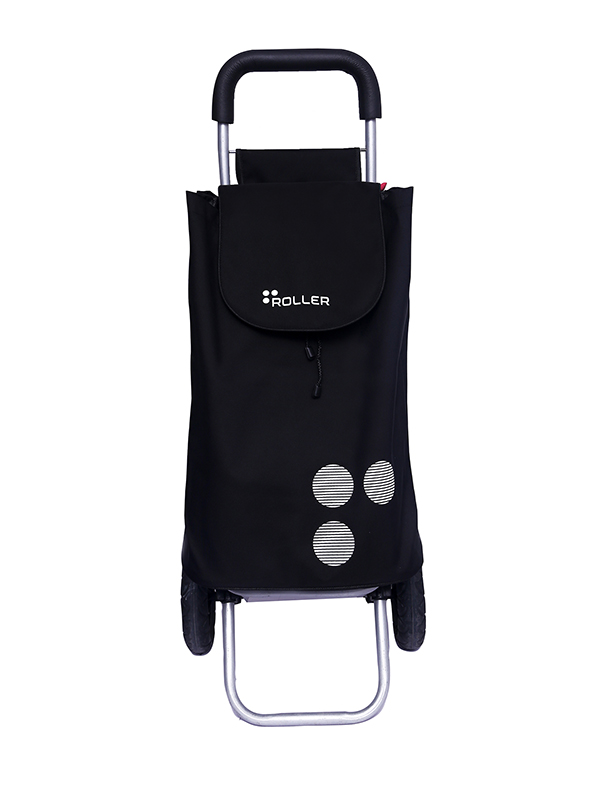 Shopping-Trolley-Bag-Black-Front