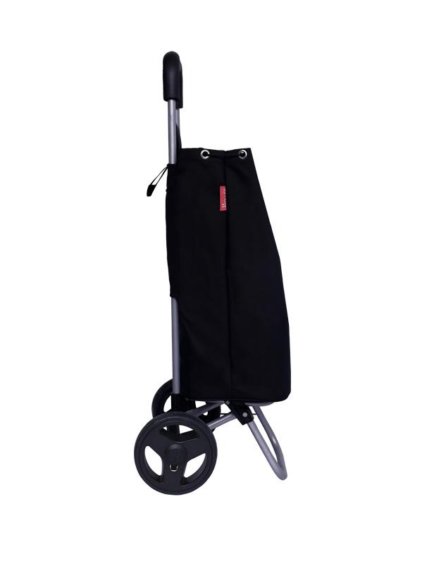Shopping-Trolley-Bag-Black-Half-Side