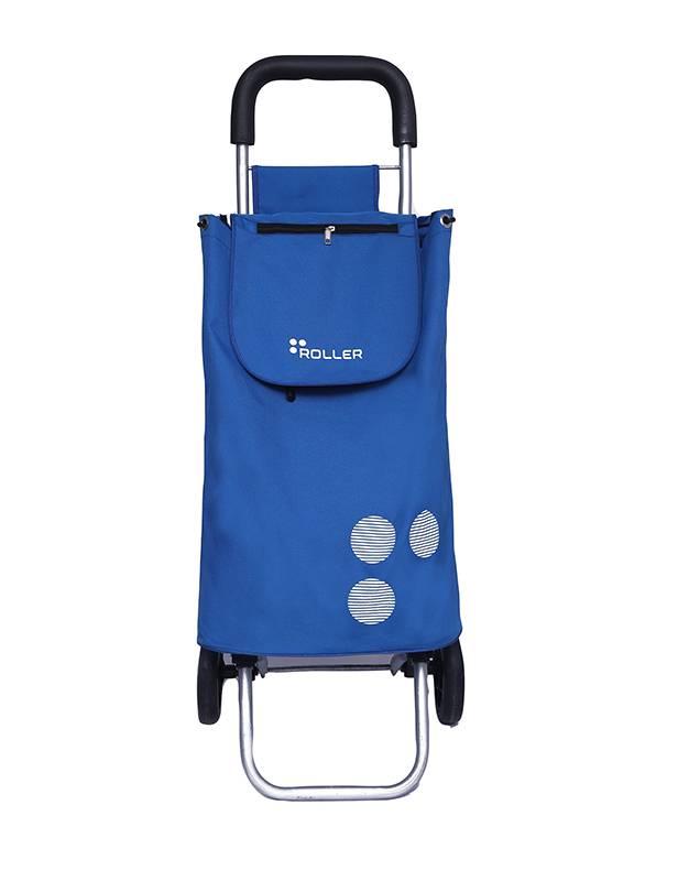 Cobalt Blue Shopping Roller Front