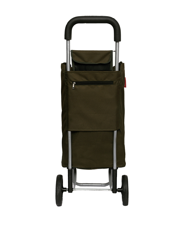 Army Green Shopping Roller Back