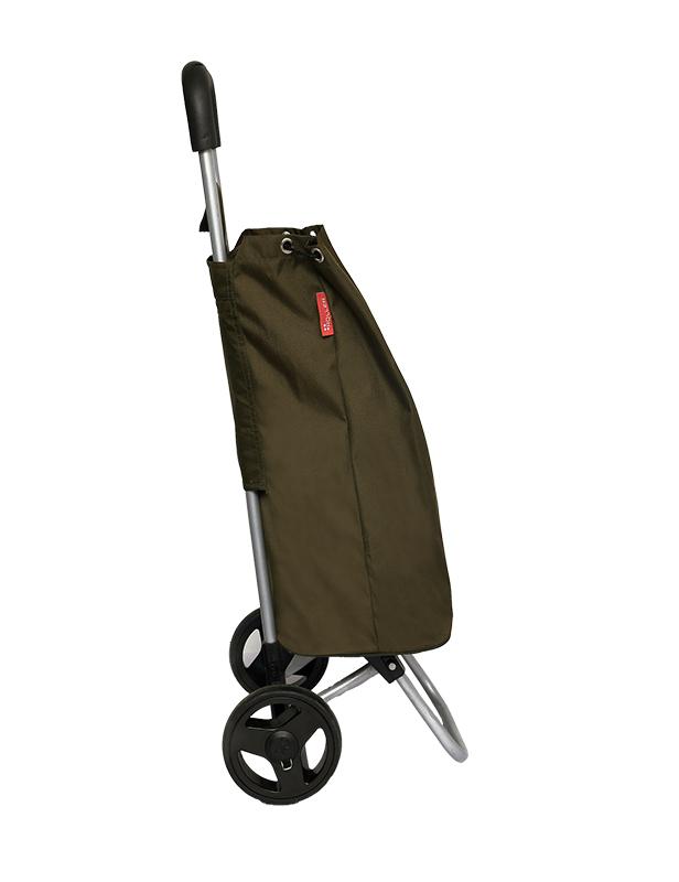 Army Green Shopping Roller Full Side