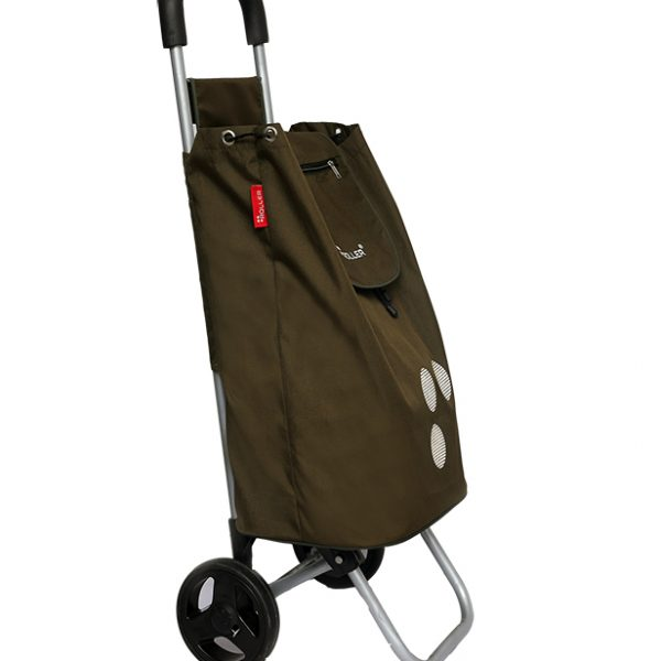 Army Green Shopping Roller Side