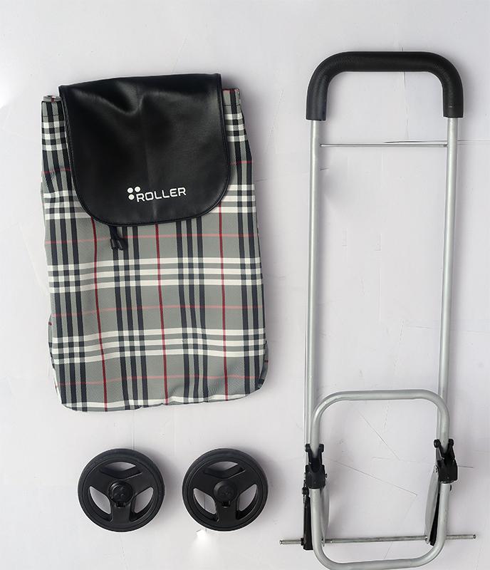 Vintage Black Shopping Roller Package
