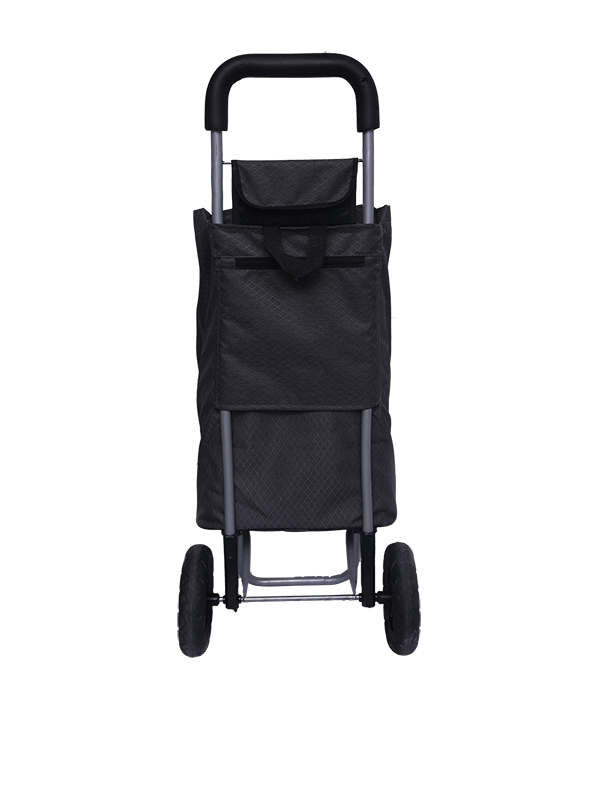 Charcoal Grey Shopping Roller Back