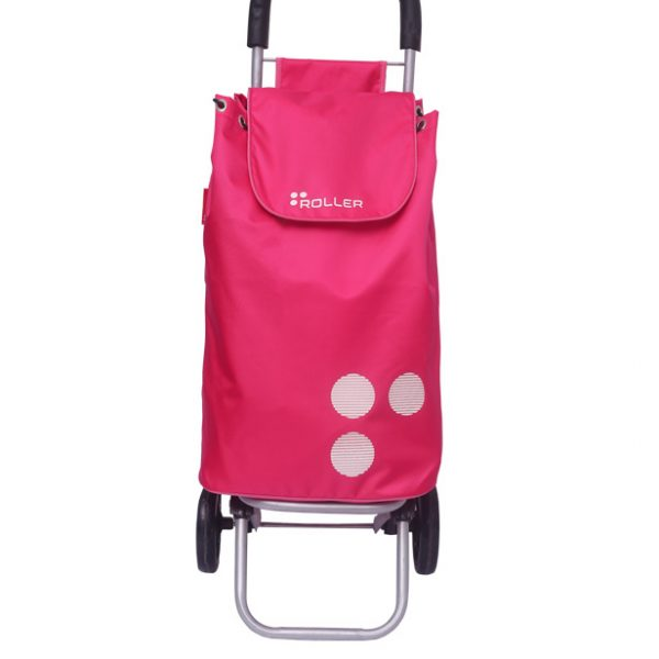 Neon Pink Shopping Roller Front