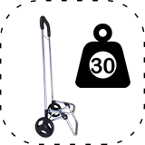 30 Kg Capacity Shopping Trolley